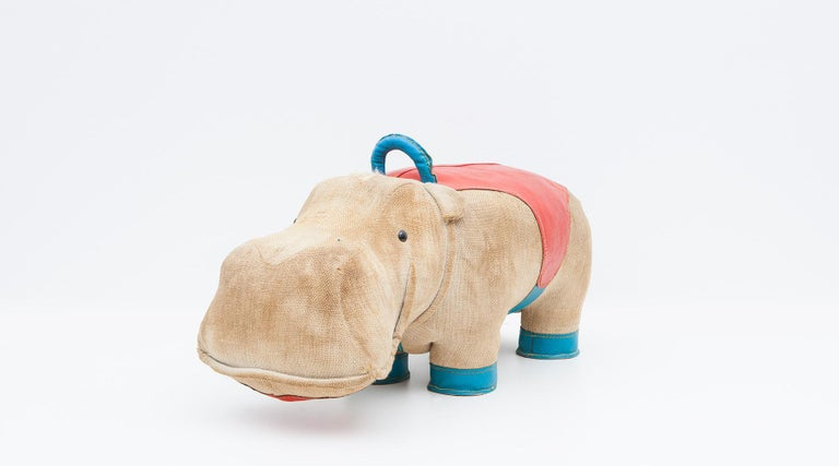 1970s High-Quality Children Toy 'Hippo' by German Renate Müller 'c' 15