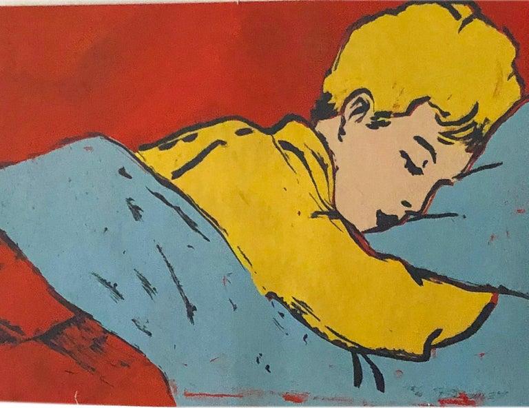 Post-Modern Pop Art Silk Screen Painting