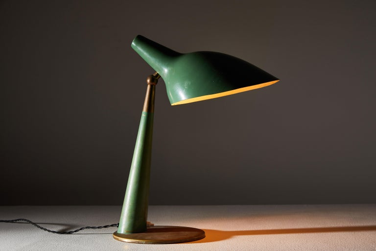 Mid-Century Modern Rare Table Lamp by Stilnovo For Sale