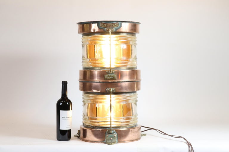 20th Century Ship's Lantern by Meteorite For Sale