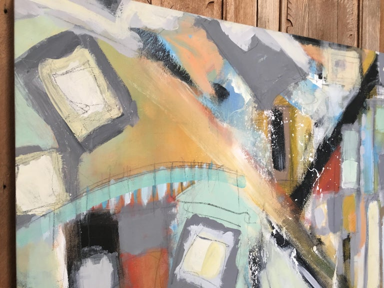 American Abstract Painting by Ken Ohmert For Sale
