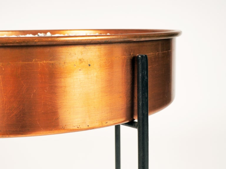 Swedish Plant Container in Copper by Gunnar Ander, Produced by Ystad Metall For Sale