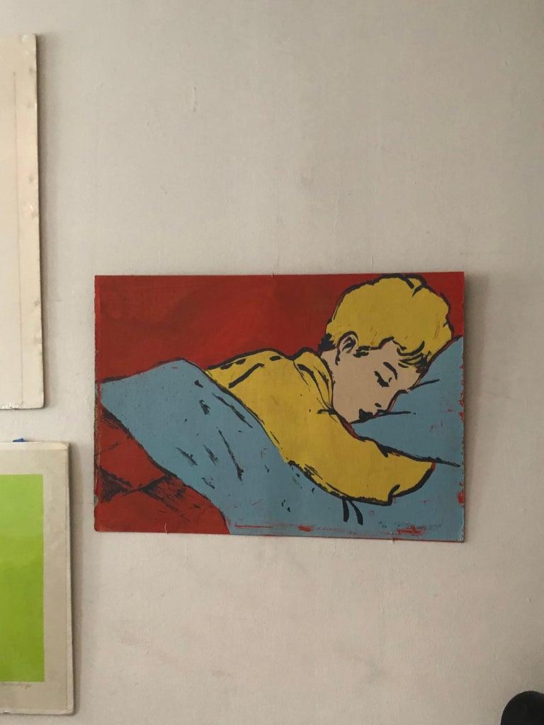 Australian Pop Art Silk Screen Painting