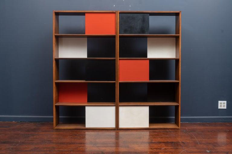 American Evans Clark Room Divider or Bookshelf for Glenn of California For Sale