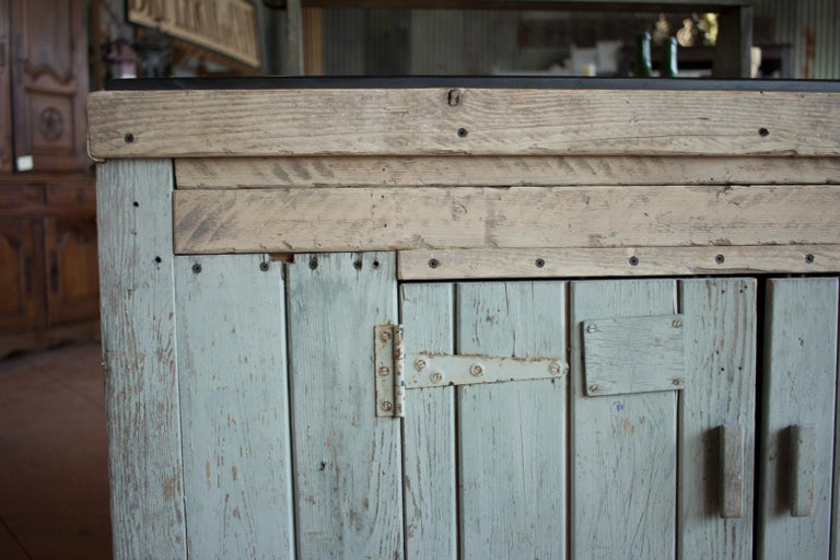 Early 20th Century English Industrial Cabinet In Good Condition For Sale In Calgary, Alberta
