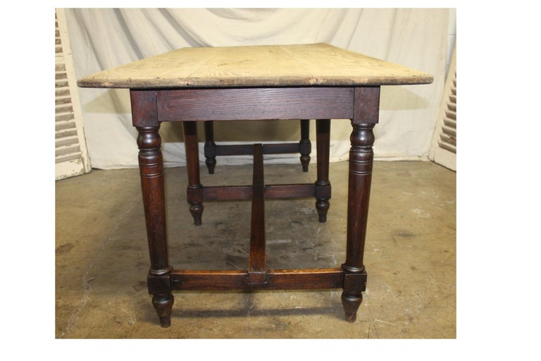 Oak Early 20th Century French Table For Sale