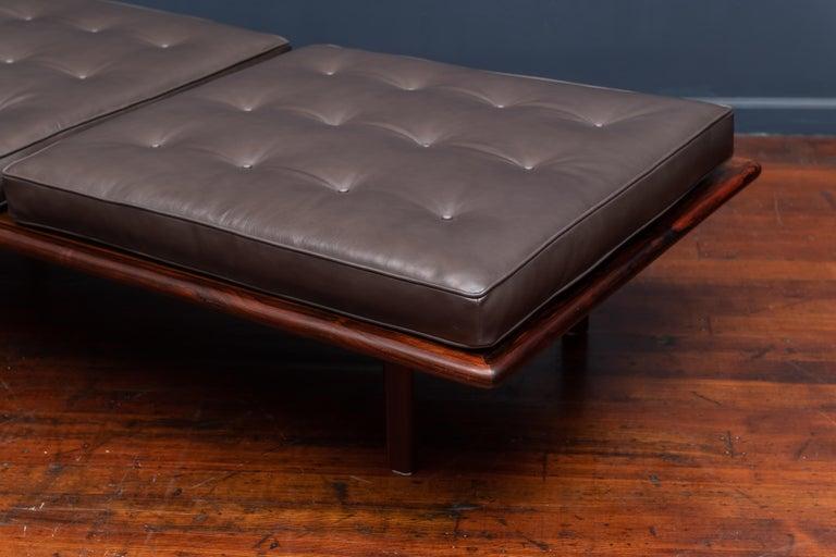 Sergio Rodrigues Rocio Bench for OCA In Good Condition For Sale In San Francisco, CA