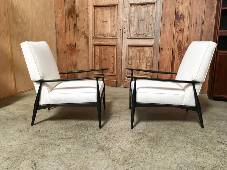 Lounge Chairs by Paul McCobb In Good Condition For Sale In Laguna Hills, CA