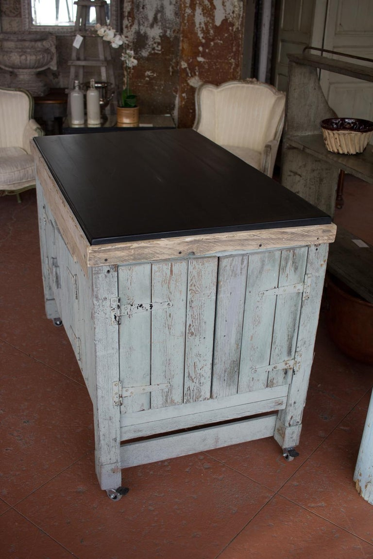 Early 20th Century English Industrial Cabinet For Sale 1