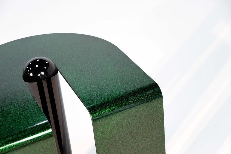 Dazzling Geometric Side Table by Birnam Wood Studio and Suna Bonometti For Sale 2