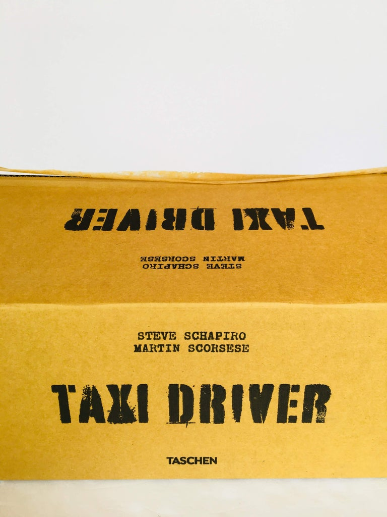 Taxi Driver Limited Edition, Signed by Steven Schapiro For Sale 3