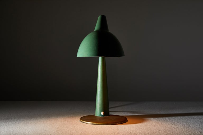 Metal Rare Table Lamp by Stilnovo For Sale