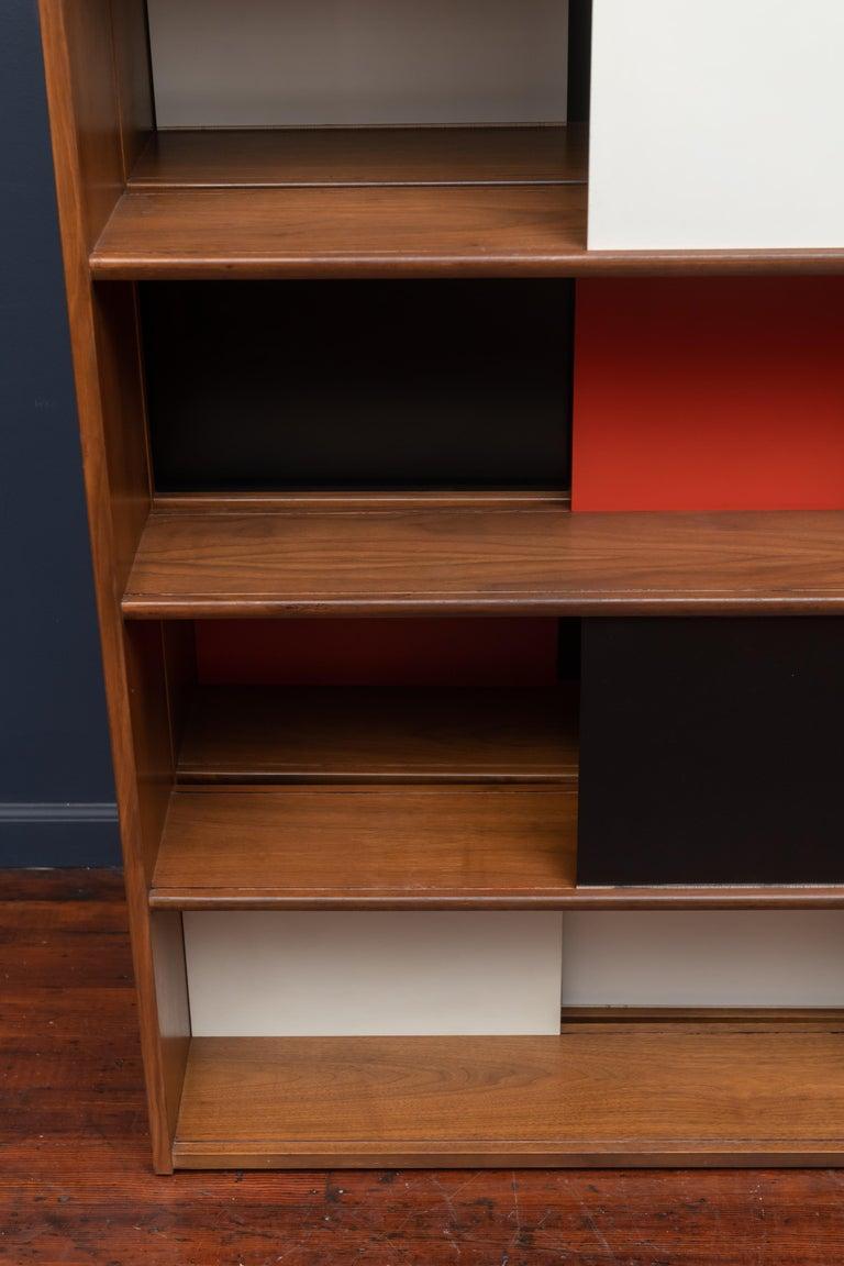 Evans Clark Room Divider or Bookshelf for Glenn of California For Sale 1