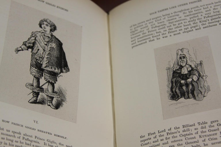 Books, The Writings of William Makepeace Thackeray, Antiques Leather-Bound Set For Sale 4
