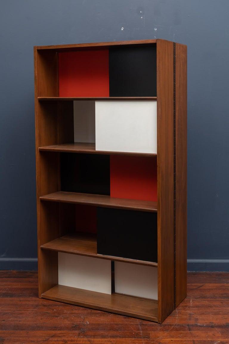 Evans Clark Room Divider or Bookshelf for Glenn of California For Sale 2
