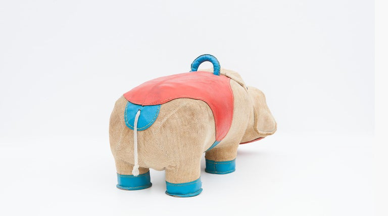 1970s High-Quality Children Toy 'Hippo' by German Renate Müller 'c' 9