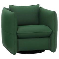 Vitra Mariposa Club Armchair in Emerald/Ivy by Edward Barber & Jay Osgerby