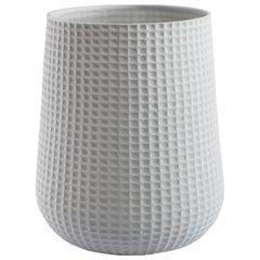 Trance Vase in Feldspar Porzellan in Mattem Abschluss
