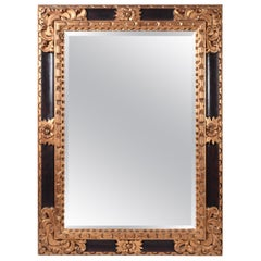 Mid-20th Century Giltwood Framed Hanging Wall Mirror