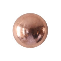 Sconce in Hammered Copper, Small, Conchita, Cobre Collection