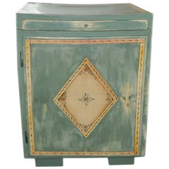 1920s Antique Hand painted Washstand