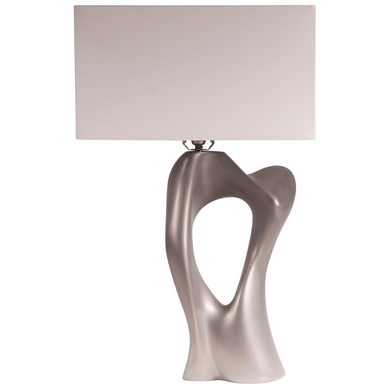 Amorph Vesta Table Lamp, Stainless Steel Finish