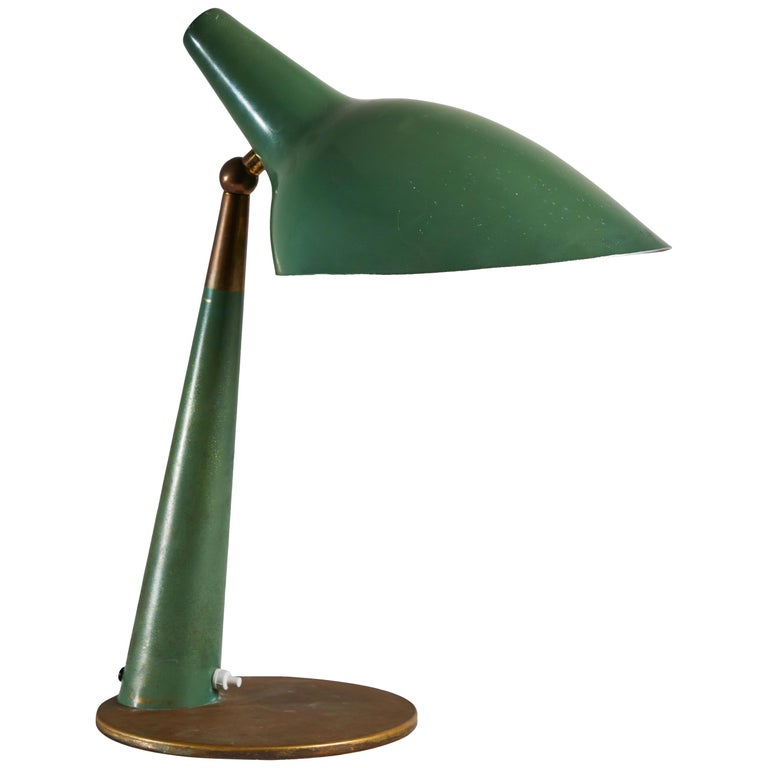 Rare Table Lamp by Stilnovo For Sale