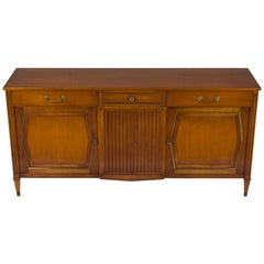 Directoire Style Mid-Century Modern Credenza Buffet Sideboard