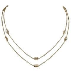 Bulgari Gold Parentesi Necklace
