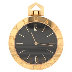 Bulgari Gold Pocket Watch