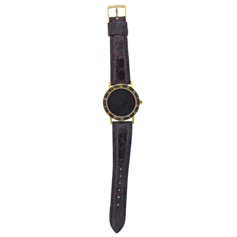 Bulgari Gold Watch BB 33 GL