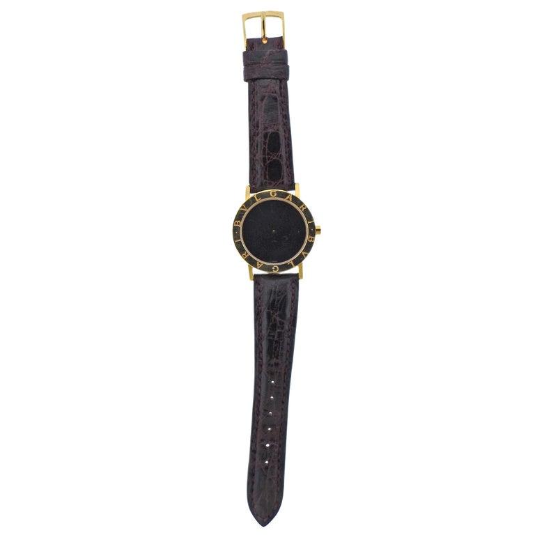 Bulgari Gold Watch BB 33 GL For Sale