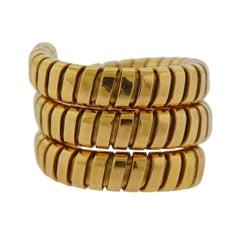 Bulgari Gold Wrap Ring