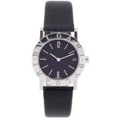 Bulgari Ladies Stainless Steel Quartz Wristwatch