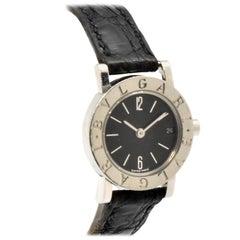Bulgari Ladies stainless Steel quartz Wristwatch Ref BB23SLD