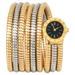 Bulgari Ladies Tubogas 3 Gold Watch