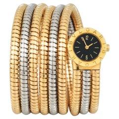 Bulgari Ladies Tubogas 3 Gold Watch
