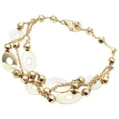 Bulgari Link Chain Yellow Gold Bracelet