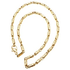 Bulgari Link Yellow Gold Chain Necklace