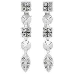 Bulgari Lucea Diamond Gold Earrings