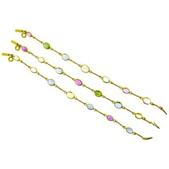 Bulgari Multi Stone Bracelets/Necklace