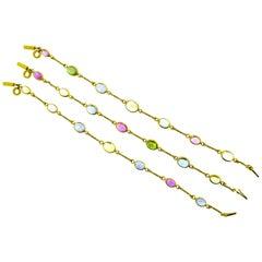 Bulgari Multi Stone Bracelets/Necklace