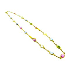 Bulgari Multi Stone Necklace/Bracelets