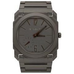 Bulgari Octo Finissimo Model 103077 Ceramic Case Wristwatch, Modern