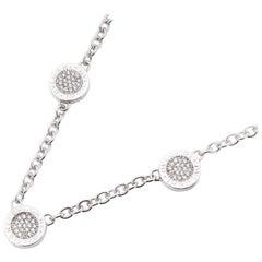 Bulgari Onyx and Diamond Necklace