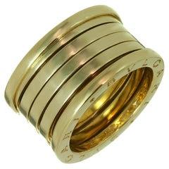 Bulgari Original Yellow Gold 5-Row Band Ring