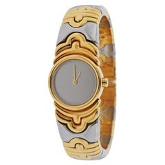 Bulgari Parentesi 18 Karat Gold Steel Watch Bracelet BJ01
