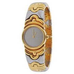 Bulgari Parentesi 18 Karat Gold Steel Watch Bracelet BJ01
