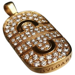 Bulgari Parentesi Diamond Pendant