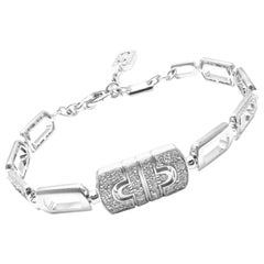 Bulgari Parentesi Diamond White Gold Link Bracelet